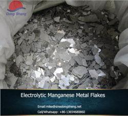 電気分解のマンガンの金属の薄片