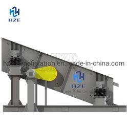 ミネラル製造プラントの金の採鉱設備の円の振動スクリーン