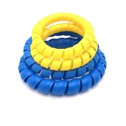 Espiral flexível de PP a Proteção de Mangueira Hidráulica do protector de borracha de PVC