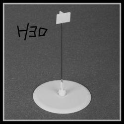 Держатель знака Wobbler/пластмассовый хомут подписать держатель (H30)