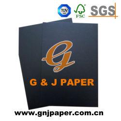 Single-Side C1s dos gris noir couché Paper Board