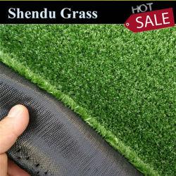 Falso El césped artificial de plástico verde alfombra de césped sintético de 7mm 8mm para jardín horizontal/Decoración exterior/Suelo cubriendo la decoración de pared/
