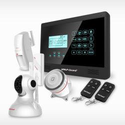النظام اللاسلكي GSM Home Security Alarm System with. (النظام اللاسلكي لإنذار الأمان المنزلي مع نظام إنذار الأمان المنزلي مع اللغة الإنجليزية/الإسبانية/الإيطالية/الفرنسية) Chitongda yl-007m2e لوحة المفاتيح باللمس/شاشة LCD