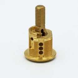 Kupferner Metallmessingplastik kundenspezifisches Gussteil, das maschinell bearbeitenfahrrad-Teile stempelt