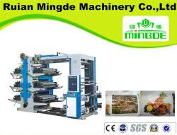 Шесть цветных пластиковых Flexo печатной машины (YT) , PP/PE мешок, целлофановую и бумагу