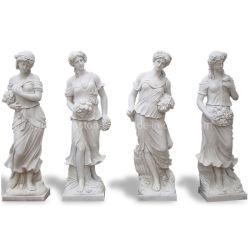 Secours et de grec moderne/blanc/jaune naturel de jardin en marbre/granit/calcaire/Travertin Figure/Lion/animal éléphant Statue Sculptures de sculpture