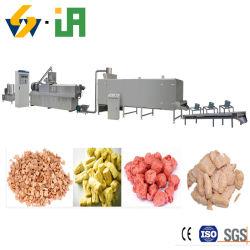 Alta qualidade de textura inchado de proteína de soja máquina de fazer carne de Soja fábrica rentável
