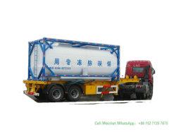 Contenitore automobilistico 20FT (plastica allineata acciaio - LLDPE del serbatoio di iso dell'antigelo per il glicol etilenico di memoria, l'antigelo del glicol del dietilene)