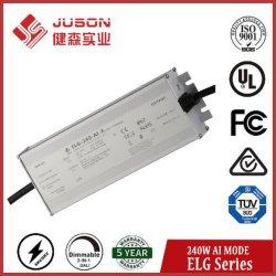 Juson 240W Driver de LED étanche AI étoilé-240W 27-54V sortieDriver de LED avec UL Certification TUV 5 ans de garantie