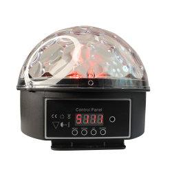 최고의 판매 LED 디스코 볼 파티 DJ LED 스테이지 나이트 가벼운 크리스마스 선물 스타 프로젝터 야간 조명