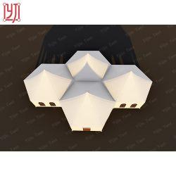 5x5m de cubos Modular tenda quarentena externa modular caso tenda Andar