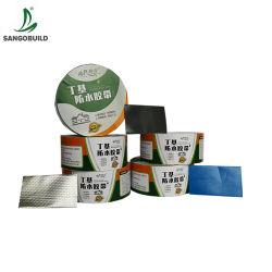 Fachmann verstärktes wasserdichte Butylfolien-Aluminiumrohr-Reparatur-Oberflächen-Bruch-Ausbessern-Band für ergänzen Leckage-Reparatur