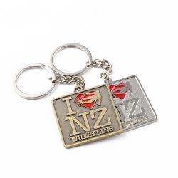 Llavero de aleación de zinc personalizadas para regalos para empresas