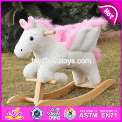 Nouveau solde de bois Rocking Horse, populaire Rocking Horse en bois, Kids' Rocking Horse jouet en bois, bois Rocking Horse W16D072