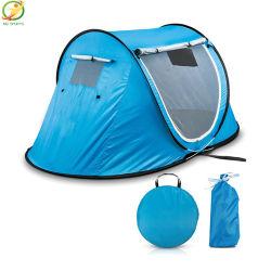 نزهة في الهواء الطلق مقاومة للمياه المشي على الشاطئ العسكري طي التلقائي مخيم المنبثقة خيمة