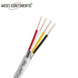 كبل إنذار الحريق من UL PH120 1.5 مم2 2.5 مم2 محمي أو غير محمي كبل مقاوم للحريق مزود بقلوب 4 قلوب متعدد المراكز 2c 4C Fire تقدير حريق كابل مقاومة