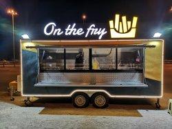Полностью оборудованные мобильные Fast Food концессии Бургер прицепа Ван Стрит продовольственной грузовики Venta En США для использования вне помещений питание тележки производитель мобильных продуктов кухня погрузчика для продажи