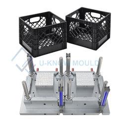 Moldes de cajas de plástico moldeado por inyección de moldes Caja de volumen de negocios