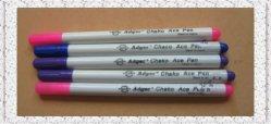 Transferir uma caneta para marcação de tecido, roupa (AEPB evanescente)