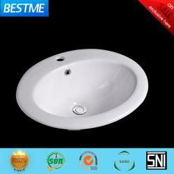 浴室Bc-7846のための陶磁器の下の反対の洗面器