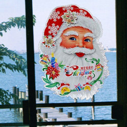 Рождество на наклейке (FF08M-3)
