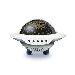 Magische LEIDEN van de Ster van de Muziek van de Projectie van het UFO van het UFO Licht
