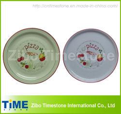 청자 피자 판(데칼 포함) (TM213)
