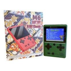 Классическом ретро 500 игры в 1 3,0-дюймовый цветной TFT Sup M6 с рук игровая консоль аркадной игры с джойстиком для продажи