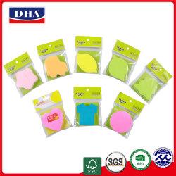 En forma de manzana Notas Adhesivas (DH-9722) personalizado de alta calidad Die-Cut almohadillas de nota