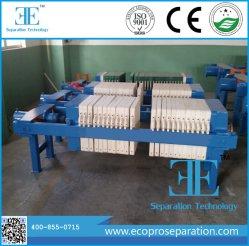 에코프로 필터 압력 슬러지 탈수소화기 플레이트 및 프레임 필터 누름 기계