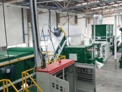 Resíduos de plástico filme estufa Usina de Reciclagem
