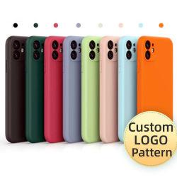 Semi, Großhandel Soft Cell Shell kompatibel mit Android Liquid Silikon Phone Fall, 9 Farbe, OEM Custom Cheap Price, Xiaomi Back Cover, Oppo Handy Zubehör