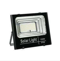 ضوء LED للطاقة الشمسية، ضوء الغمر الأمني مع مستشعر الحركة وجهاز التحكم عن بعد 100 واط، 200 واط، 300 واط