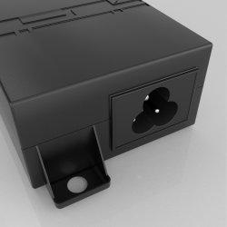 56V 1,08UM 60.48W/ Injector Poe Gigabit Industrial de comutação/Adaptador de Fonte de alimentação compatível com IEEE 802.3af/em/BT/Bt +++