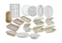 """El Envasado de Alimentos Compostable desechables biodegradables cena de caña de azúcar de la placa de 9"""""""