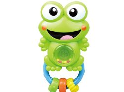 Baby hand Bells Play Set Cartoon Kikker Baby ratelt Toys