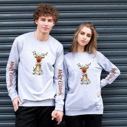سعر الجملة التسليم بسرعة الزواج عيد الميلاد تخفيضات ساخنة في الصين قميص عيد الميلاد المشاغب