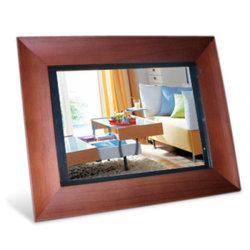 """10 """" cadre photo numérique en bois"""