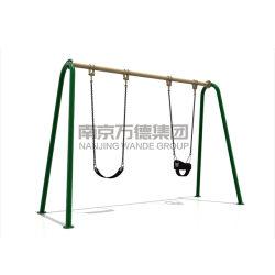 Garten-Spielplatz-Geräten-Baby-Sitzkind-Schwingen-Set GS-TUV im Freien