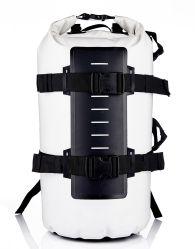 500d lona de PVC Fashion 50L saco impermeável ao ar livre 50L Saco de viagem Super Bolsa Escola Capacidade Saco de desporto à prova de mochila para caminhadas com alça a tiracolo