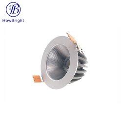تخفيضات ساخنة 3 واط 6 واط 9 واط 12 واط، موضع سقف دائري من الألومنيوم ضوء LED منخفض خفيف الوزن بقوة 24 واط بتقنية الإضاءة الخافتة بقدرة 30 واط مع إيقاف تشغيل الضوء الخافت على مستوى COB
