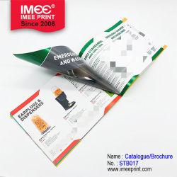 Imee Custom um folheto3 Livro Catálogo de serviço de impressão de folheto dobrável laminado