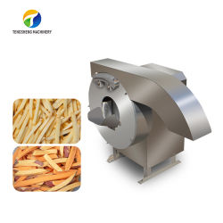 음식 산업용 전기 야채 절단기 프렌치 프라이가 양파 다지기 를 자릅니다 과일스트립 고구마 슬라이스 기계(TS-Q128)