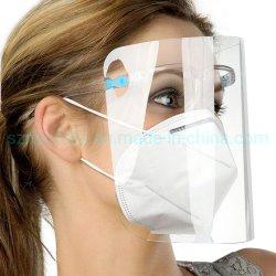 Het tweezijdige Mist oor-Opgezette Beschermende Gezicht Shiled van Shiled van het Gezicht