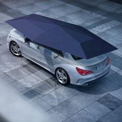 4,2 m Carroads 4,8M toit de voiture de l'ombre des parasols de voiture automatique avec couvercle de commande à distance