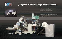 自動1.5-14oz円錐形水紙コップ機械(ZBR)