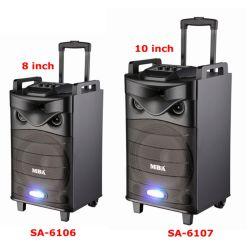 """10 """" Le nouveau Amazon PRO Battery-Powered hi-fi sans fil Bluetooth PA Multimédia Home Theater Audio Karaoke Professionnel chariot l'Orateur"""
