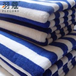 Heet verkoop Badhanddoek van het Strand van het Hotel van de Badkamers van het Embleem de In het groot