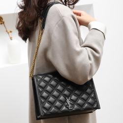 Las existencias de fábrica Guangzhou mercado mayorista de cuero de PU de lujo nuevo diseñador de moda mujer moda femenina Bolsa Tote SL señoras bolso