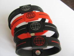 Силиконовый браслет с источник энергии (DMS-PB-06)